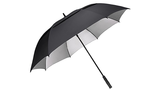 d1dd64ce73ca Automatic Black UV Golf Umbrella Wholesale, UV blocker golf umbrella
