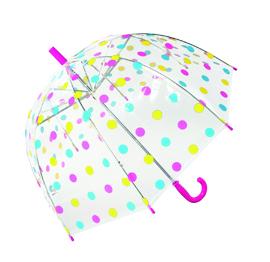 Adult Flamingo Printed Clear Dome Umbrella Wholesale