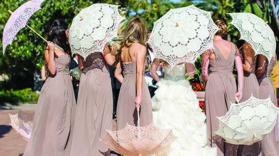 Lace Wedding Parasol Umbrella Manufacturers