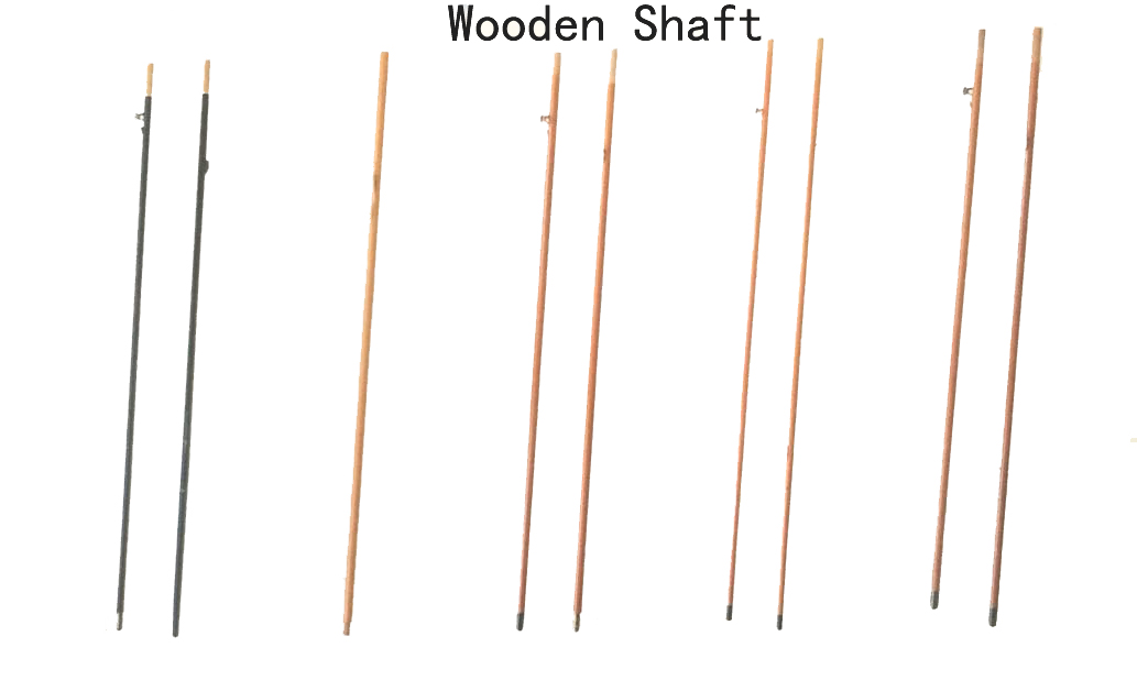 wooden shaft